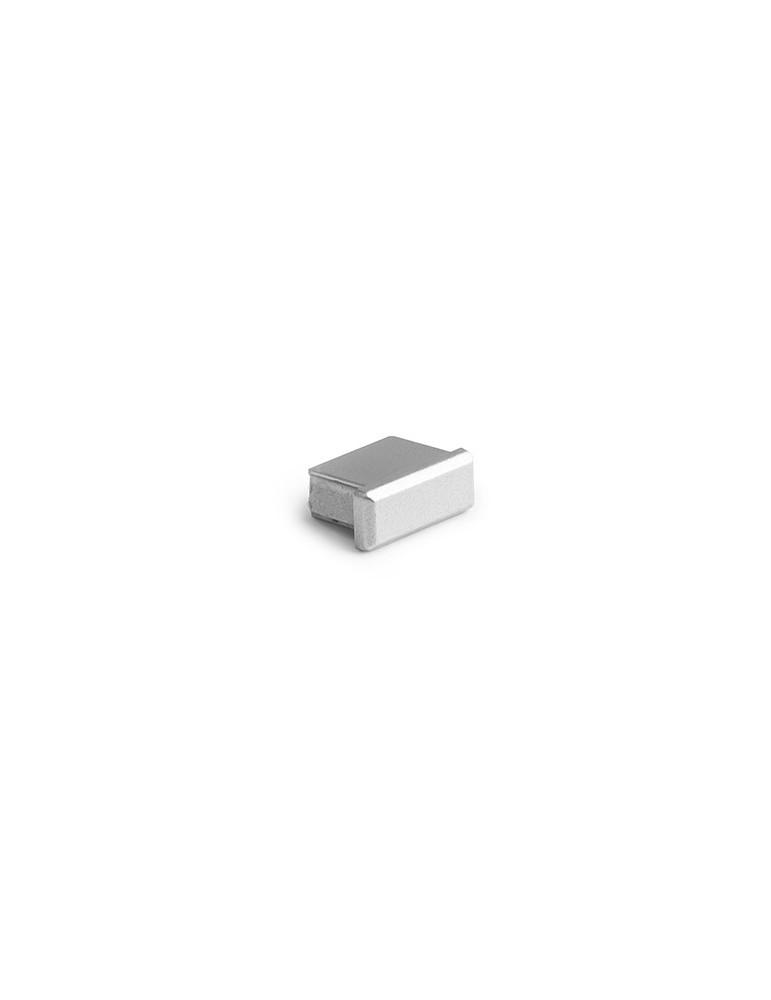 Zaślepka MICRO-ALU metalizowany Kluś Design