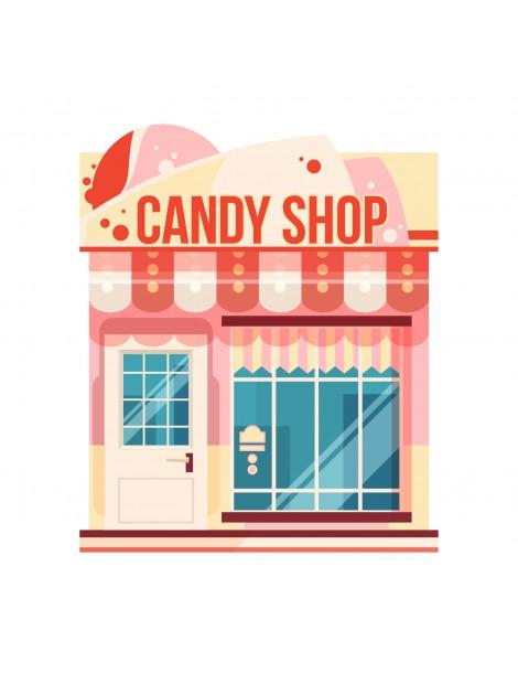 Pastries shop, Light Project