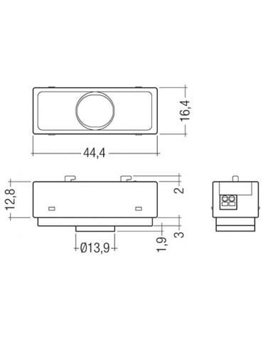 MSensor G3 SFI 30 PIR 5DPI WH/BK TRIDONIC