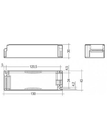 Driver LC 10W 150–400mA bDW SC PRE2